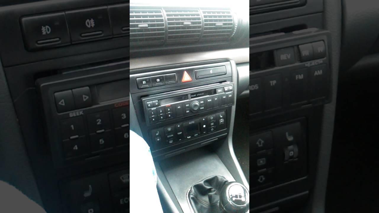 Groovy Audi a4 radio oryginalne pomoc - YouTube SQ37