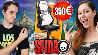 Chi PERDE COMPRA SEDIA da gaming *costosa* all' altro! Fortnite