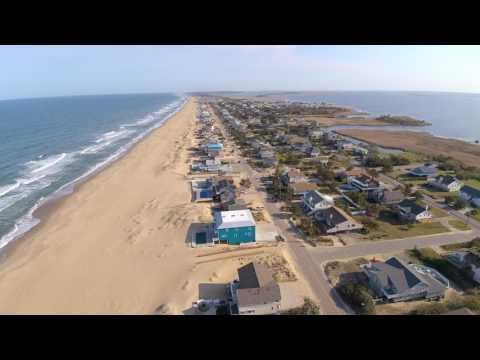 4K Sandbridge, Virginia Beach, Virginia Flying Drone On A Perfect Day Before Getting Ran Up On.