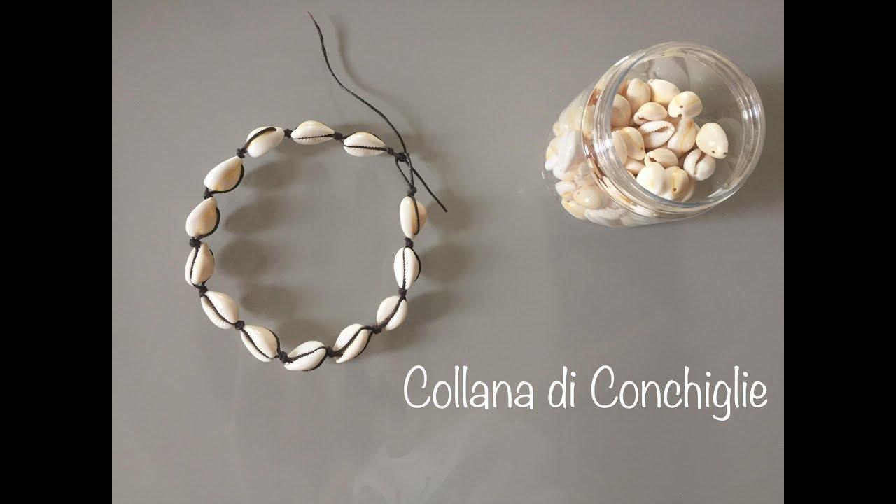 grandi affari 2017 retrò fabbricazione abile COLLANA di Conchiglie come Chiara FERRAGNI   Shell necklace