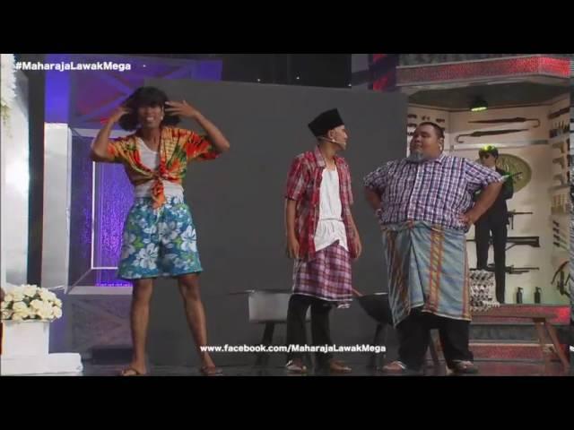 Maharaja Lawak Mega 2016 - Akhir (Bocey) Muzikal #1