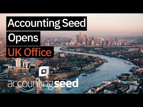 Accounting Seed Opens Office in the United Kingdom