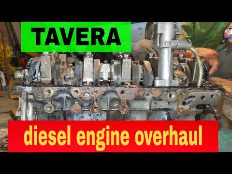 TAVERA Diesel Engine Overhaul