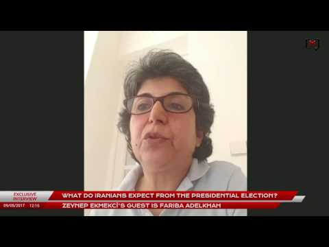 What do Iranians expect from the presidential elections? Exclusive interview with Fariba Adelkhah