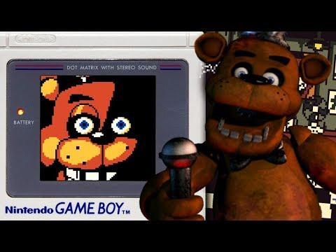 FIVE NIGHTS AT FREDDYS GAME BOY EDITION! || Five Nights at Freddy's Pocket Horror (FNAF PORTABLE) thumbnail