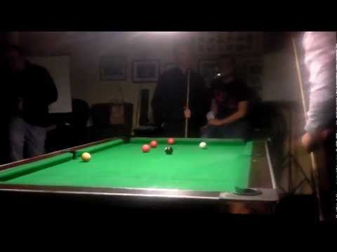 Ken Doherty Pool Exhibition v Neil Madigan(Best of 5,Frame 2) Limerick 2012