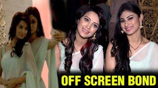 Watch: Shivanya & Sesha's Off-Screen Bonding | Naagin | Colors
