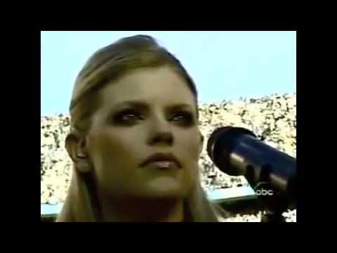 Dixie Chicks - National Anthem -  The Super Bowl XXXVII