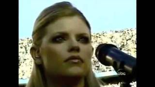 Dixie Chicks - National Anthem -  The Super Bowl XXXVII