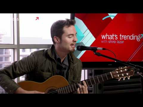 """John West Performs """"Loved You Tonight"""" Live"""