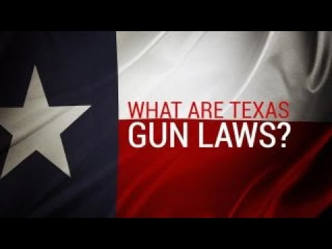Texas gun laws explained