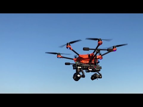 Yuneec H520 - professional Double-Gimbal System for FLIR