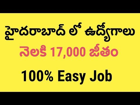 100% Jobs in Hyderabad, 17,000 Salary | Data Entry Operator Recruitment in NIN Hyderabad