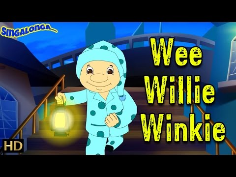 Wee Willie Winkie | Electronic Pop Style Music  | Nursery Rhymes | Popular Kids Songs