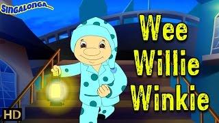 Wee Willie Winkie Electronic Pop Style Music Nursery Rhymes Popular Kids Songs