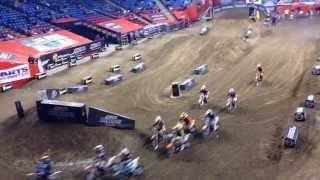 Motocross Kids Rippin On Dirt Bikes Arenacross edition