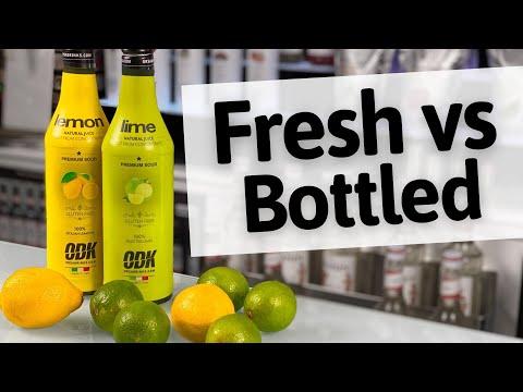 Fresh Lemon Juice vs Bottled Lemon Juice | EASY Cocktails to make at Home | Drinkstuff