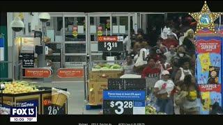 HCSO needs help identifying hundreds of Walmart looters