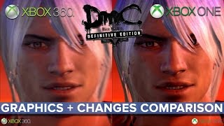 DmC: Definitive Edition graphics and changes comparison - Xbox 360 vs. Xbox One