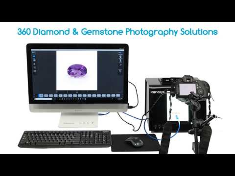 Professional 360 & 3D Gemstone Photography Equipment By Iconasys