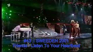 The Best of Eurovision 2001-2010 (My Top 50)