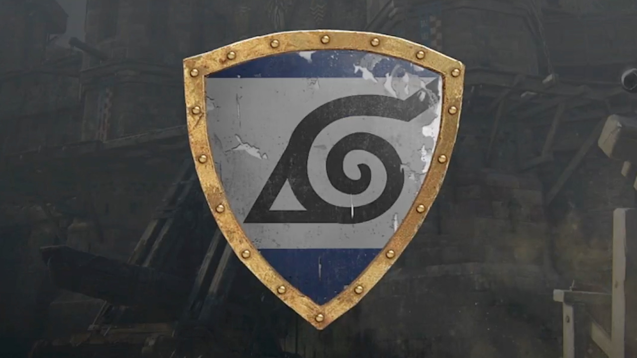 For Honor Naruto Leaf Village Emblem Tutorial Youtube