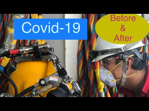 Covid-19 : Before & After Brunei offshore crew change