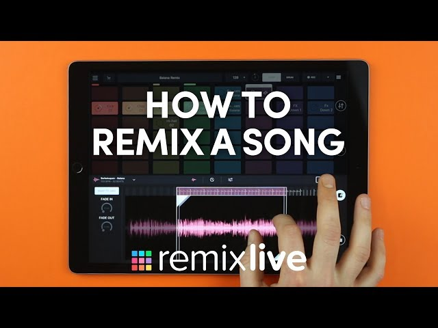 How to remix a song | Remixlive 4 0