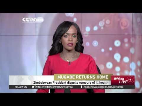 Zimbabwean President Robert Mugabe dispells rumours of ill health