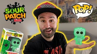 Green Sour Patch Kids Exclusive Funko Pop Review (ECCC 2019)