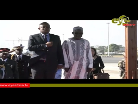 Highlights of The Arrival of The Guinea Bissau Prime Minister visit to Gambia