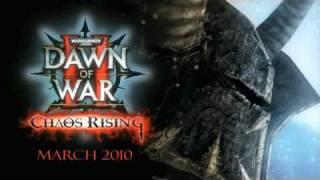 Warhammer 40000 Dawn of War 2: Chaos Rising gameplay