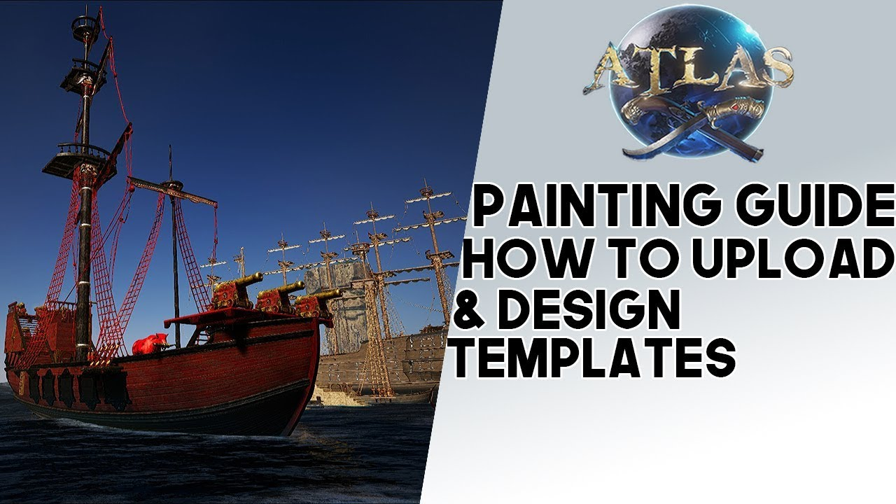 Atlas: PAINTING GUIDE!! How To Create, Design, & Upload Custom Templates To  Sails, Animals, & More!