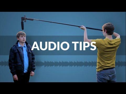 Audio Tips For Filmmaking