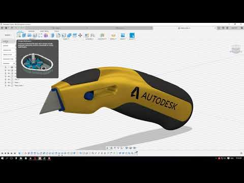 Tự Học Autodesk Fusion 360 - Bài 01 - Giới Thiệu Chung
