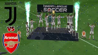 Juventus VS Arsenal ● Dream League Soccer 2018 Gameplay