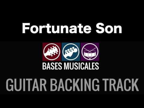 Fortunate Son | Guitar Backing Track | Acompañamiento Base