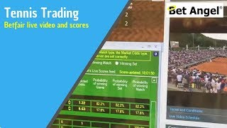 Tennis Lives scores -  Betfair live video and live scores on Bet Angel - See the difference