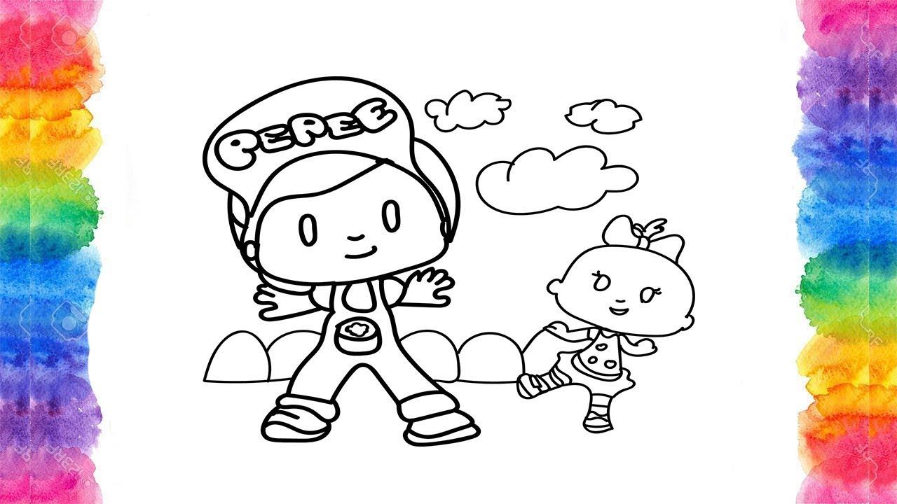 En Güzel Pepe Ve Niloya Boyama Sayfası Pepe çizgi Filmniloya