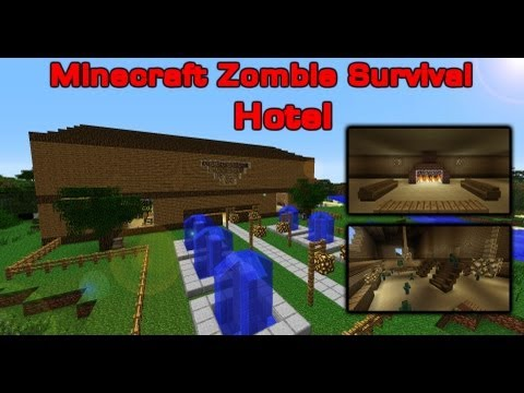 Minecraft Zombie Survival 1 - Hotel