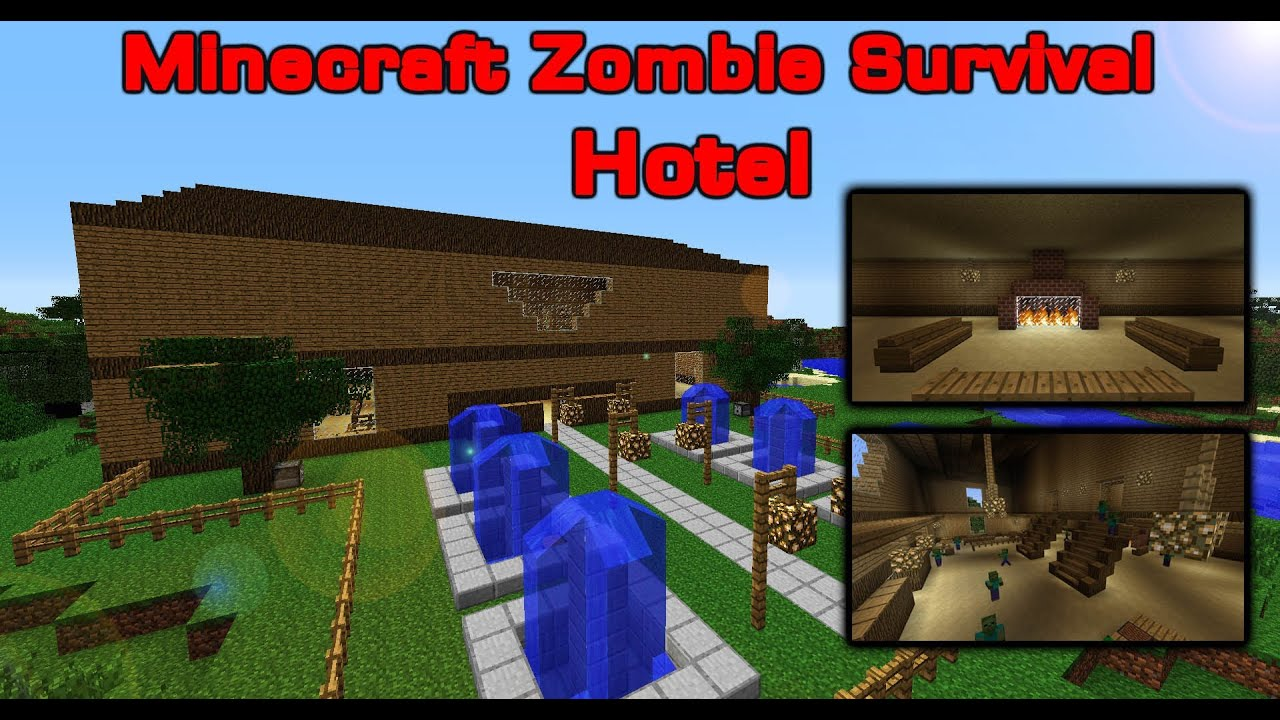 Minecraft Zombie Survival Games