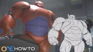 How to draw the robot from Big Hero 6