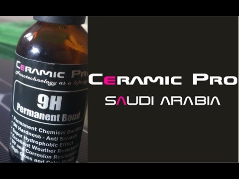 ceramic pro saudi arabia installing 9h on solar pv youtube. Black Bedroom Furniture Sets. Home Design Ideas