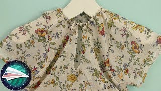 Sewing a Summer Top | No Pattern DIY Clothes | Sewing for Girls | Sewing for Beginners
