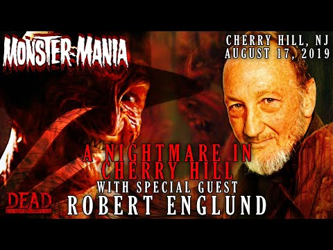 A Nightmare in Cherry Hill Panel with Special Guest Robert Englund | Monster-Mania Con