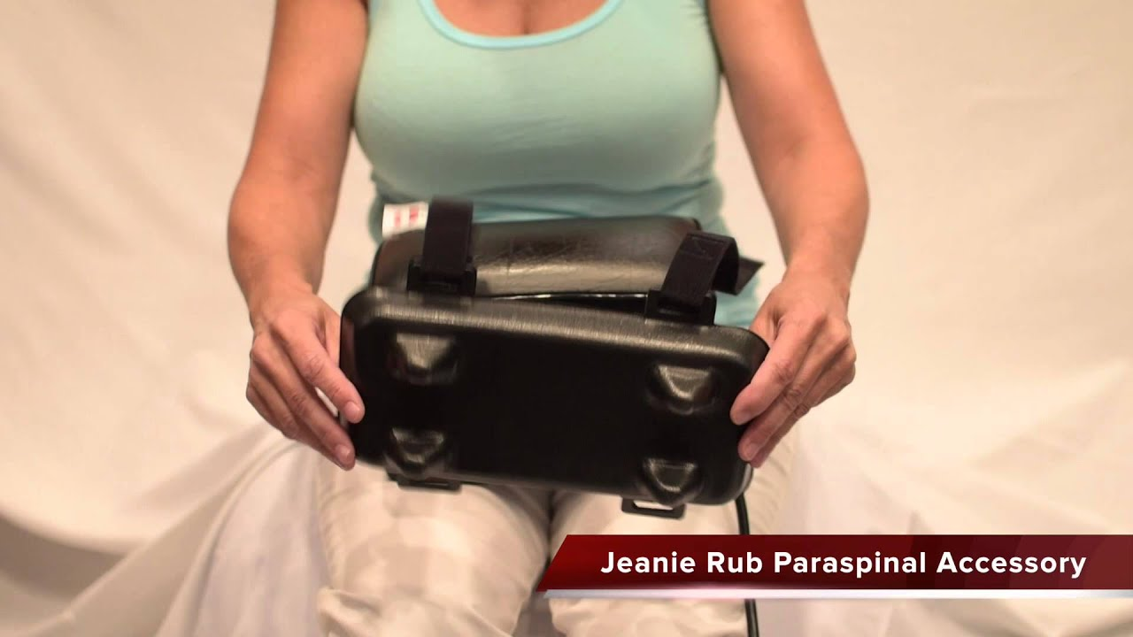 jeanie rub paraspinal accessory acc896 - Jeanie Rub Massager