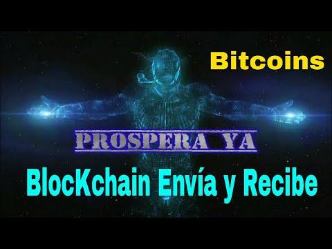 Blockchain Como Enviar Y Recibir Bitcoins | Transacciones Y Comisiones Desde Distintos Monederos