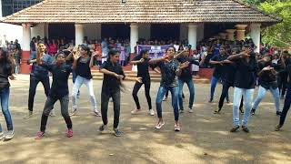 Flashmob conducted by NSS Unit CMS college Kottayam