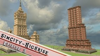 Minecraft SimCity High-rise 1930s - 1950s Project P3: A Working Redstone Elevator!