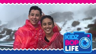 KIDZ BOP Life: Vlog # 25 - Surprise Concert & Niagara Falls Adventure with Isaiah